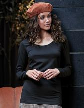 Ladies` Fashion Stretch Long Sleeve Extra Lenght